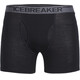 Icebreaker M's Anatomica Boxers with Fly black/monsoon